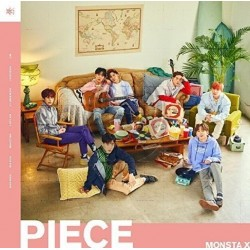 MONSTA X - PIECE (1º Album Japones)