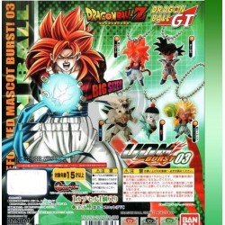 Dragon Ball UDM Burst 3 Keychain