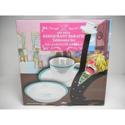 One Piece Restaurant Baratie Tableware Set (Dish & Mug)