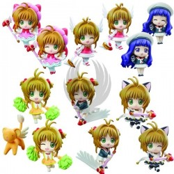 CARD CAPTOR SAKURA RELEASE THE SEAL DISPLAY 6 FIG 6 CM PETIT CHARA