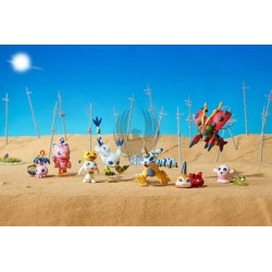 DIGIMON ADVENTURE DATA 02 DISPLAY 8 FIGURAS 5,5 CM DIGIMON DIGICOLLE