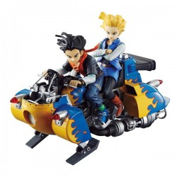 DBZ DESKTOP REAL MCCOY ~ANDROID 17 Y 18 SET 2 FIGURAS 19 CM~