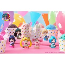 SAILOR MOON PETIT CHARA ICE CREAM PARTY