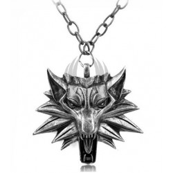 The Witcher Necklaces red eyes