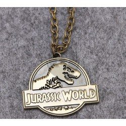 Jurassic World Necklace Bronze