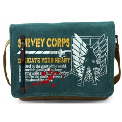 ATTACK OF TITAN  Bandolera Canvas Casual 2015