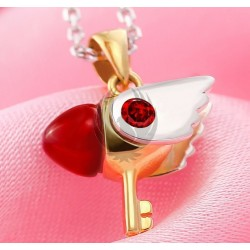 Card Captor Sakura / Seal Key  Necklace