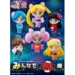 LET'S GO TO FESTIVAL SET SAILOR MOON PETIT CHARA