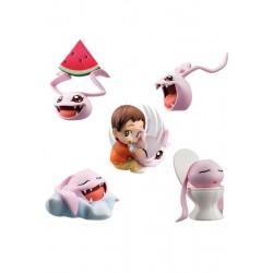 DIGIMON CORO-COLLE SET 5 FIGURAS DIGICOLLE