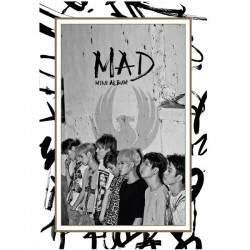 GOT7 /  MAD CD+DVD Vertical Ver