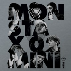 MONSTA X Mini Album Vol.2 [RUSH] Official Ver.