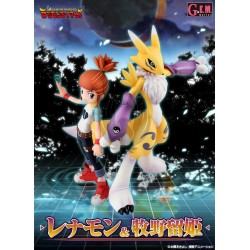 DIGIMON TAMERS/ RENAMON & MAKINO RUKI
