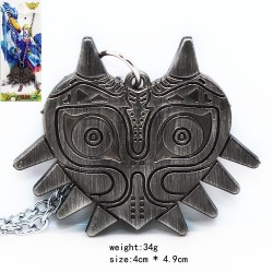 ZELDA majoras mask (colgante) Color Metal