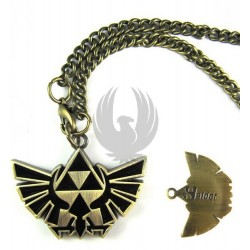 THE LEGEND OF ZELDA - COLGANTE TRIFUERZA (CADENA)