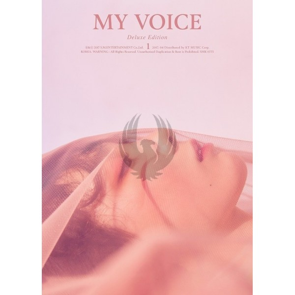 Girls' Generation / Tae Yeon Album Vol.1 [My Voice] (Deluxe Edition)