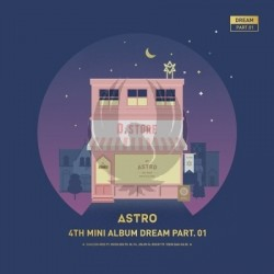 ASTRO Mini Album Vol.4 [Dream Part.01] (NIGHTY ver.)