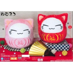 NEMUNEKO DARUMA BIG PLUSH DOLL