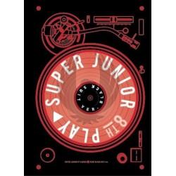 SUPER JUNIOR - 8º Album PLAY [Black Suit Ver.]