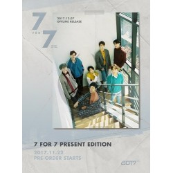 GOT7 - 7 FOR 7 PRESENT EDITION [Cozy Hour Ver.]