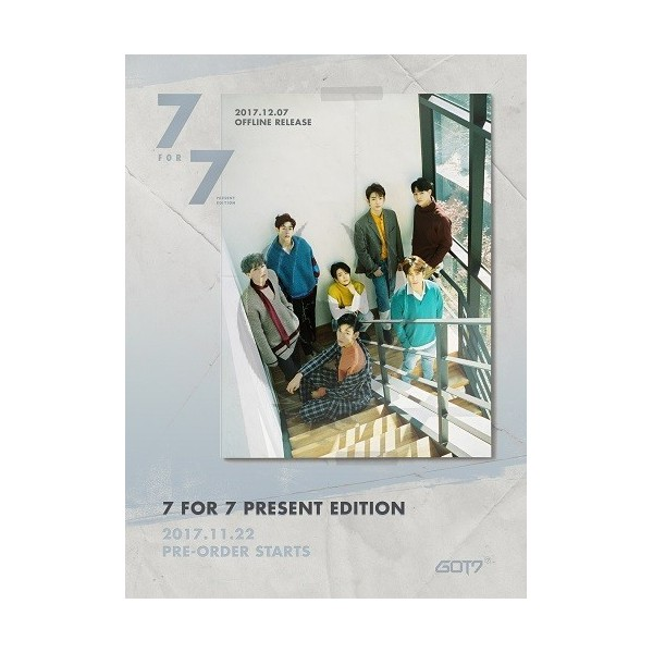 GOT7 - 7 FOR 7 PRESENT EDITION [Starry Hour Ver.]