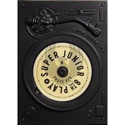 SUPER JUNIOR - 8º Album PLAY [Pause Ver.]