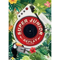 SUPER JUNIOR - 8 Album Repackage REPLAY [Special Edition]