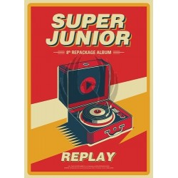 SUPER JUNIOR - 8 Album Repackage REPLAY