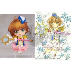 CARD CAPTOR SAKURA  CLEAR CARD Book + Figure