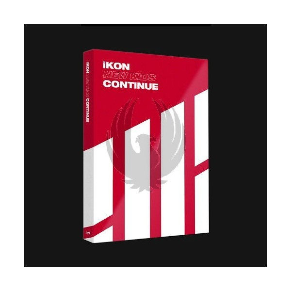 IKON - NEW KIDS : CONTINUE [Red Ver.]