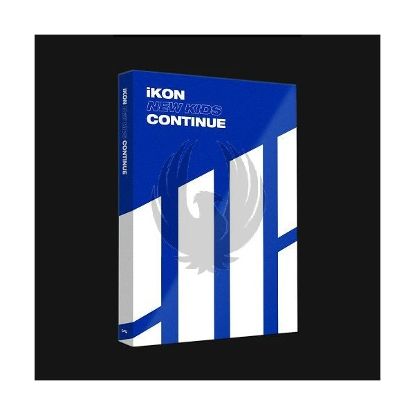 IKON - NEW KIDS : CONTINUE [Blue Ver.]
