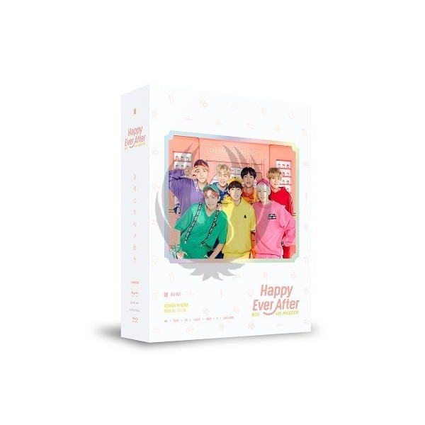 BTS - BTS 4th Muster HAPPY EVER AFTER Blu-ray