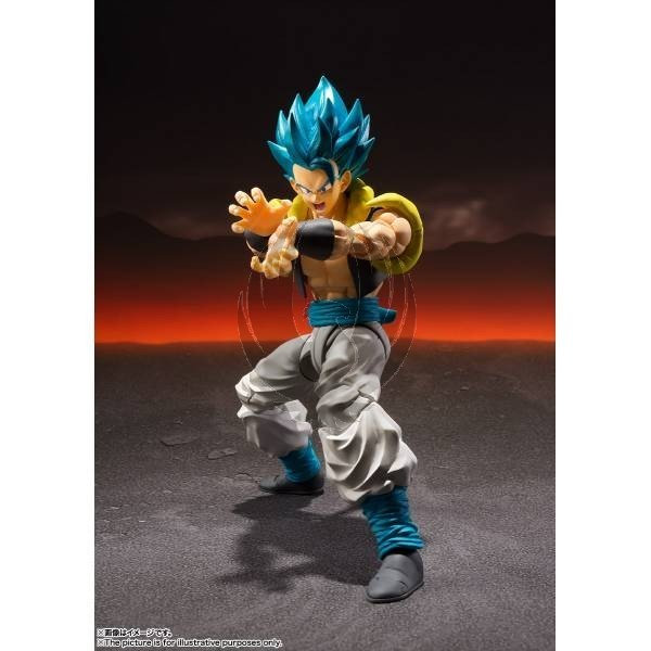 DRAGON BALL SUPER SH FIGUARTS SUPER SAIYAN GOD SUPER SAIYAN GOGETA