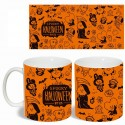Taza Magica BT21 (Cambia de color) - Spooky Halloween (Naranja)