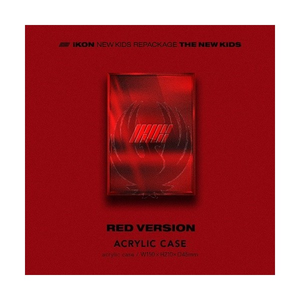 IKON - NEW KIDS REPACKAGE : THE NEW KIDS [Red Ver.]