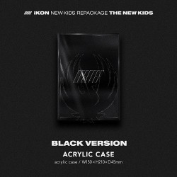 IKON - NEW KIDS REPACKAGE : THE NEW KIDS [Black Ver.]