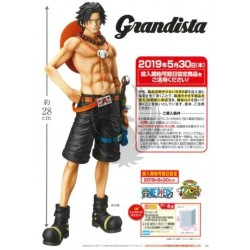 ONE PIECE  GRANDISTA THE GRANDLINE MEN  PORTGAS.D.ACE