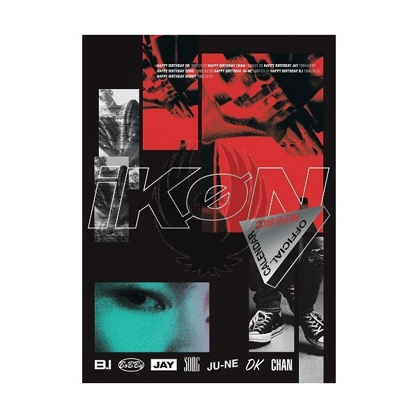 IKON - 2019 OFFICIAL CALENDAR