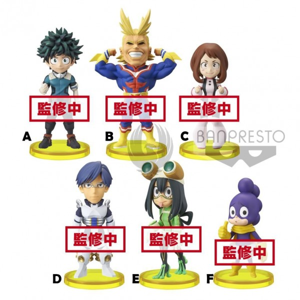 My Hero Academia WCF World Collectable Figure Vol.1