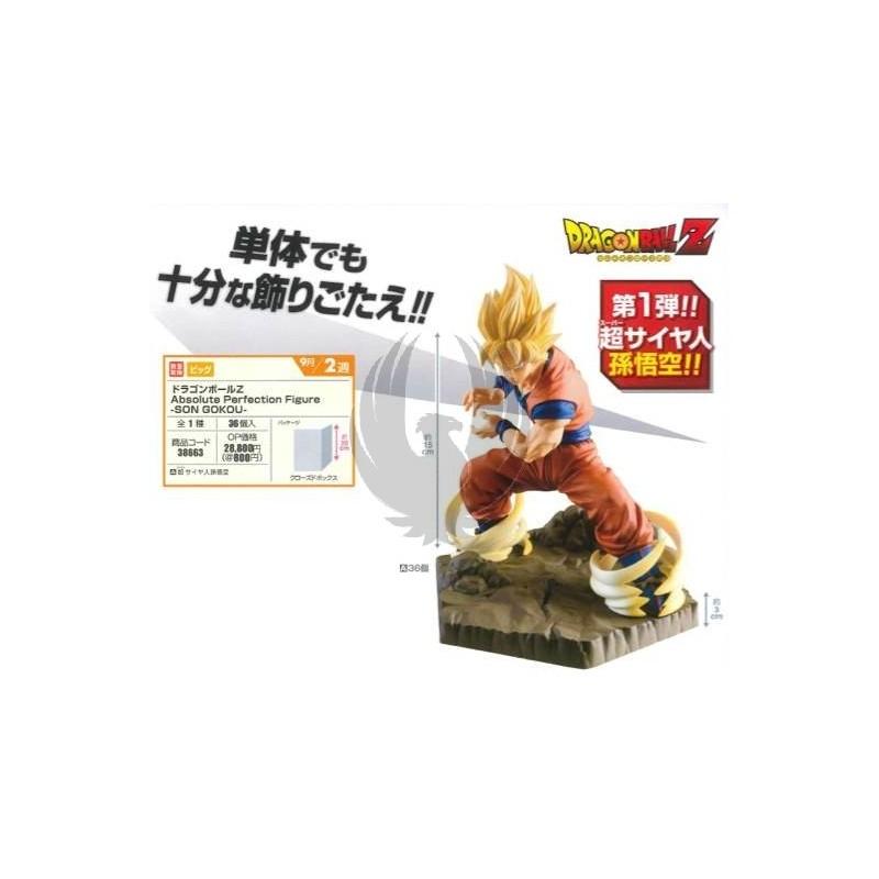 Absolute Perfection Son Goku SSJ Pvc Figure Banpresto DRAGON BALL Z