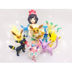 POKEMON  EVEUI FRIENDS COLLECTION - EEVEELUTIONS
