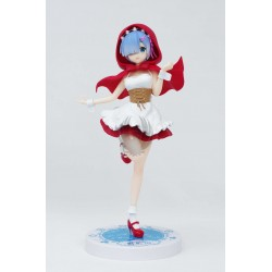 RE : ZERO  SSS FIGURE REM RED HOOD