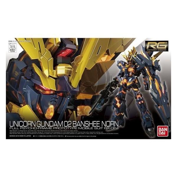 Unicorn Gundam 02 Banshee Norn Full Psycho-frame Prototype Mobile Suit RX-ON