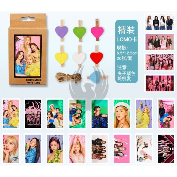 BLACKPINK LOMO SET