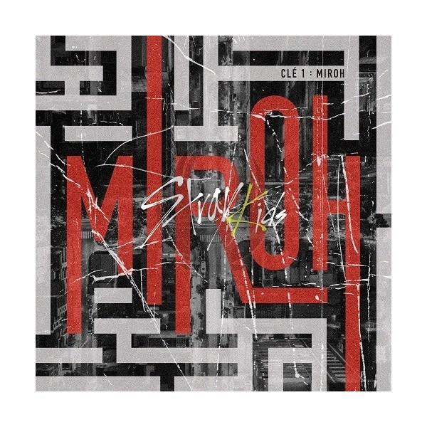 STRAY KIDS - Clé 1 : MIROH [Normal Edition - Clé1 Version]