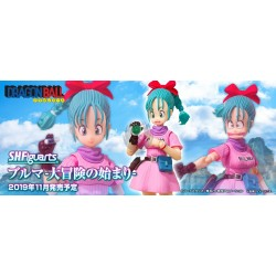 DRAGON BALL SH FIGUARTS BULMA ADVENTURE BEGINS