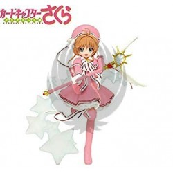 CARD CAPTOR SAKURA  CLEAR CARD  SAKURA SCALE FIGURE