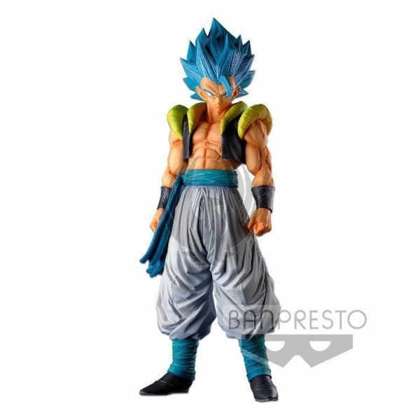 DRAGON BALL SUPER SUPER MASTER STARS PIECE THE GOGETA THE BRUSH SUPER SAIYAN BLUE