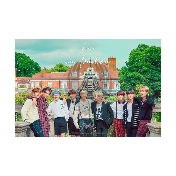STRAY KIDS - STRAY KIDS FIRST PHOTOBOOK STAY IN LONDON