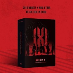 MONSTA X - 2019 WORLD TOUR [WE ARE HERE] IN SEOUL DVD