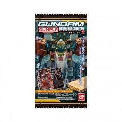GUNDAM GUNPLA Package Art Collection card